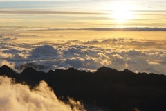 Sunrise on Rinjani Summit